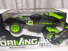 RC BUGGY Turbo DRIVING control remoto nuevo en caja