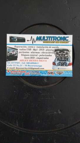 Venta instacion productos car audio