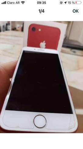 Iphone7 Red (product) original de 256gb.