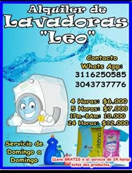 Alquiler de Lavadoras Leo