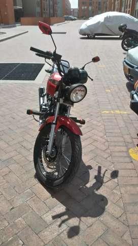Vendo moto NKD 125 unico dueño modelo 2020