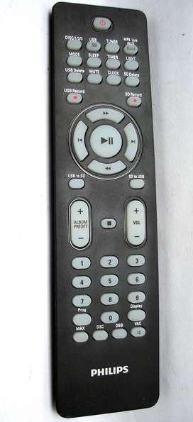 Control Remoto Equipo Audio Philips Rc2034321/01 Fwm663-998
