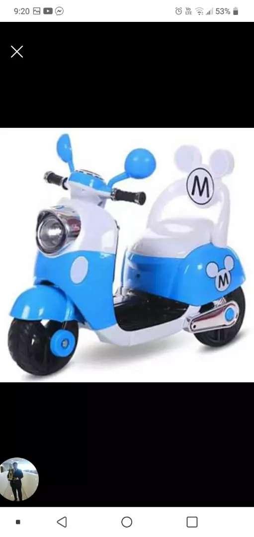 Motos mimie y mickey pedal y musicales 0