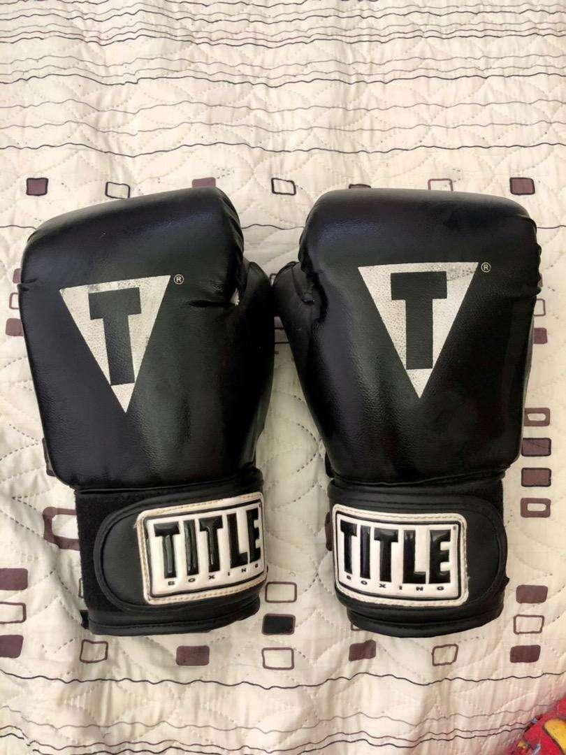 Guantes de boxeo TITLE
