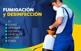 Funigaccion y Desinfección