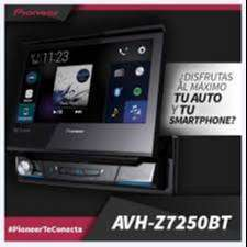 "RADIO PIONEER AVH-Z7250BT USB DVD BT PANT 7"" motorizada Ap CARPLAY Sc1"