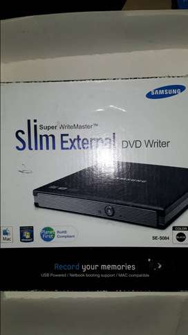 slim external DVD WRITER