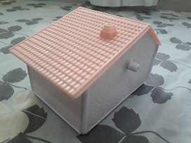 Casa Y Rueda Para Hamster