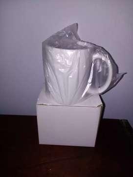 Cajas de Mugs x43 Blancos de excelente calidad