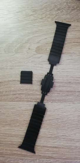Pulso smart watch Apple 38 mm Original acero inoxidable Dark Black