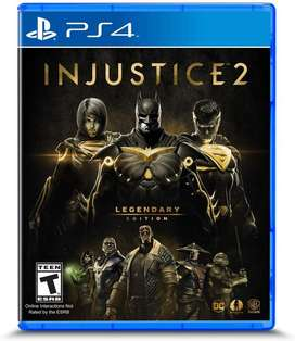 Injustice 2 Legendary Edition Sellado Nuevo para PS4
