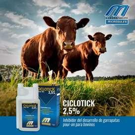 Anti parasitario bovinos cerdos.