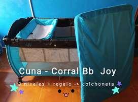 Corral Bb Joy 3 niveles