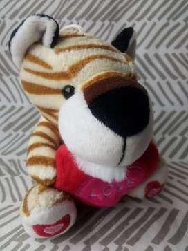 Peluche Mix Corazón Tigre