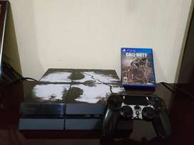 Vendo Playstation 4 Ps4 500gb Call of Duty