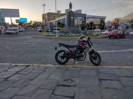 Moto ssenda baiper cc200