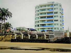 Apartamento Tonsupa frente al mar con piscina. Exclusivo