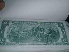 Billete de 2$