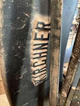 SIERRA SINFÍN DE 110 CM ALEMANA (máquina carpintería cierra sin fin KIRCHNER-LEIPZIG aserradora)