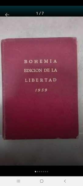 Antique Colombia Vende Edición Especial de la Revista Cubana Bohemia de 1959