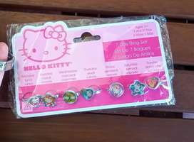 Anillos hello Kitty