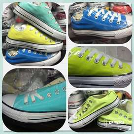 zapatos converse muchos colores