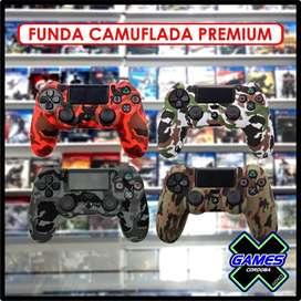 FUNDAS PARA  JOYSTICK PS4 CAMUFLADAS PREMIUM