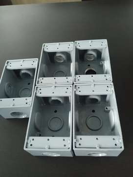 Cu Conectores Sp Caja Aluminio 5800 - Rectangular 3 Th918ex