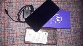 Motorola one mcro azul