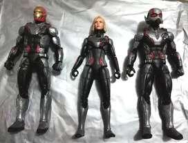 Marvel Legends trajes cuánticos