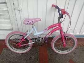 Ciclas para niña como nuevas