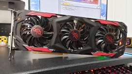 Tarjeta de vídeo Powercolor Red devil Rx 480 (Con falla, leer descripción)
