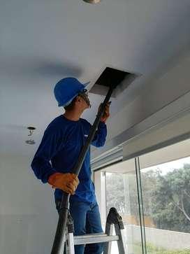 Ayudantes para instalación de aire acondicionado