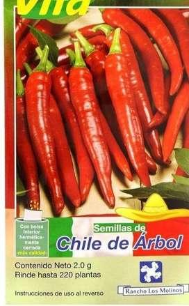SEMILLAS DE CHILE MEXICANO