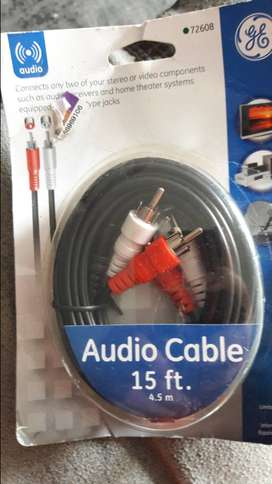 cable Audio 15ft nuevo