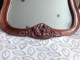 Espejo de madera cedro