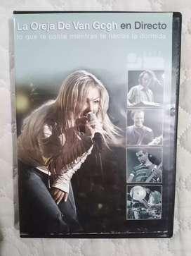 CD Y DVD LA OREJA DE VAN GOGH ORIGINALES