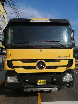 Vendo Volquete Mercedez Benz Actros 3344k -2012