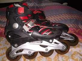Gran combo de patines y bicicleta