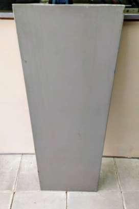 estante de chapa de 1m x 30cm reforzado  20 unidades
