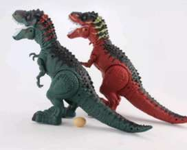 Tiranosaurios Rex pone huevo
