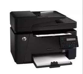 Impresora hp Laser Jet pro MFP M127fn