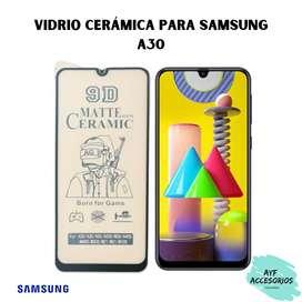 Vidrio Cerámica Samsung A30