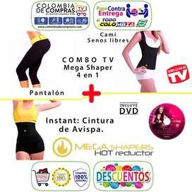 Pantalón Hot Cami Shapers Faja Cintura Avispa, Sxl, Nuevos, Originales, Garantizados
