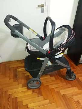 Graco Click Connect Travel System: Cochecito + Huevito +auto
