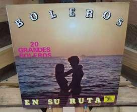 Long Play Lps Discos Acetatos Pasta Vinilos Vinyl Boleros En Su Ruta