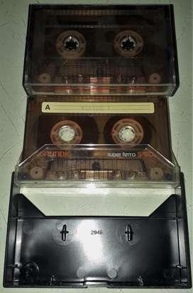 Cassette Grundig Super Ferro S 90 Un Solo Uso