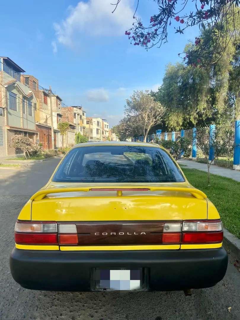 AUTO TOYOTA COROLLA 1996 0
