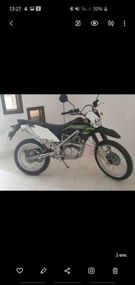Vendo moto kawuasaki klx 150 puerto así putumayo