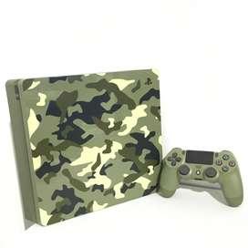 PS4 Slim camuflado 1tb